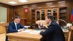 Марат Хуснуллин провёл рабочую встречу с секретарём Генсовета «Единой России» Андреем Турчаком