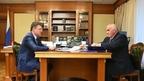 Александр Новак провёл встречу с губернатором Костромской области Сергеем Ситниковым