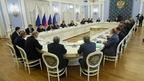 Встреча Дмитрия Медведева с членами Общероссийского объединения работодателей «Российский союз промышленников и предпринимателей» (РСПП)