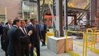 Дмитрий Медведев посетил металлургический завод «Тула-Сталь»