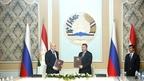 Антон Силуанов принял участие в 16-м заседании Межправительственной комиссии по экономическому сотрудничеству между Россией и Таджикистаном