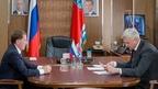 Алексей Гордеев провёл рабочую встречу с губернатором Магаданской области Сергеем  Носовым