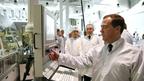 Дмитрий Медведев посетил завод по производству фотоэлектрических модулей в Новочебоксарске