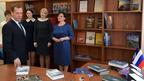 Дмитрий Медведев передал книги в библиотеку средней общеобразовательной школы села Пуциловка Уссурийского округа Приморского края