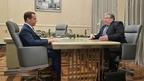 Встреча Дмитрия Медведева с главой Республики Мордовия Владимиром Волковым
