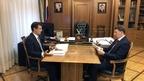 Алексей Гордеев провёл рабочую встречу с руководителем Роскачества Максимом Протасовым