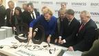 Алексей Гордеев принял участие в работе 30-ой выставки органических продуктов «БиоФах» в Нюрнберге