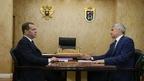 Встреча Дмитрия Медведева главой Республики Карелия Артуром Парфенчиковым