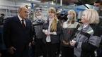 Михаил Мишустин посетил Чебоксарское производственное объединение имени В.И.Чапаева