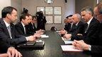 Беседа с Президентом Швейцарской Конфедерации Ули Маурером