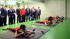 Дмитрий Медведев посетил региональный центр спортивной подготовки «Академия биатлона» в Красноярске
