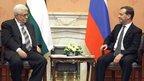 Дмитрий Медведев встретился с Президентом Государства Палестина Махмудом Аббасом