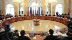 Дмитрий Медведев принял участие в заседании Высшего Государственного Совета Союзного государства России и Белоруссии