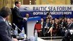 Дмитрий Медведев принял участие в пленарном заседании Форума Балтийского моря