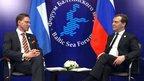Встречи Дмитрия Медведева с главами делегаций стран-участниц Форума Балтийского моря