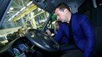 Совещание о развитии автомобильной промышленности