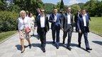 Дмитрий Медведев посетил Всероссийский детский центр «Орлёнок» в Туапсе