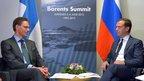 Дмитрий Медведев встретился с Премьер-министром Финляндии Юрки Катайненом