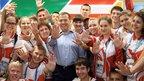Дмитрий Медведев посетил Всемирную летнюю Универсиаду в Казани и присутствовал на церемонии закрытия игр