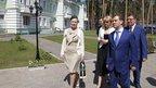 Дмитрий Медведев посетил расположенный под Тамбовом дом-интернат для ветеранов войны и труда