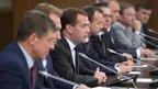 Дмитрий Медведев принял участие во встрече с представителями российских деловых кругов в рамках форума «Сочи-2013»