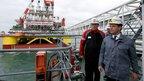 Дмитрий Медведев осмотрел ряд объектов ОАО «Лукойл» в Астраханской области
