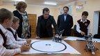 Дмитрий Медведев посетил животноводческий комплекс ООО «ЭкоНиваАгро» и среднеикорецкую общеобразовательную школу