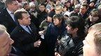 Дмитрий Медведев посетил пострадавший от наводнения посёлок Менделеева в Комсомольске-на-Амуре