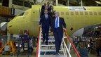 Дмитрий Медведев посетил авиационный завод имени Ю.А.Гагарина в Комсомольске-на-Амуре