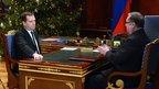 Дмитрий Медведев встретился с председателем наблюдательного совета Фонда содействия реформированию жилищно-коммунального хозяйства Сергеем Степашиным