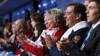 Дмитрий Медведев присутствовал на церемонии открытия зимних Олимпийских игр в Сочи