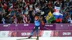 Дмитрий Медведев посетил олимпийские соревнования по биатлону и фигурному катанию