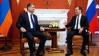 Дмитрий Медведев встретился с Премьер-министром Армении Тиграном Саркисяном