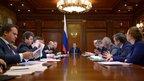 Совещание о системе стимулирования экономической активности субъектов Федерации