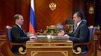 Дмитрий Медведев провёл рабочую встречу с главой Республики Ингушетия Юнус-Беком Евкуровым