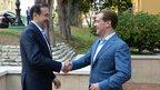 Встреча Дмитрия Медведева с Премьер-министром Казахстана Каримом Масимовым