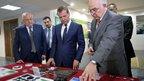 Дмитрий Медведев встретился с главой Республики Северная Осетия – Алания Таймуразом Мамсуровым, посетил технологический центр «Баспик» и бизнес-инкубатор – IT-парк «Алания» во Владикавказе