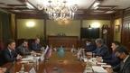 Alexander Novak's meeting with Energy Minister of Kazakhstan Magzum Mirzagaliyev