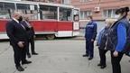 Михаил Мишустин посетил трамвайное депо Кировского района Саратова
