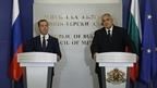Заявления Дмитрия Медведева и Премьер-министра Болгарии Бойко Борисова для прессы по завершении переговоров