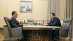 Встреча Дмитрия Медведева с председателем ПАО «Промсвязьбанк» Петром Фрадковым