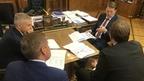 Алексей Гордеев встретился с главой Республики Карелия Артуром Парфёнчиковым