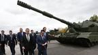 Дмитрий Медведев посетил Х Международную выставку вооружения