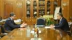 Виталий Мутко встретился с губернатором Смоленской области Алексеем Островским