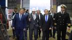 Дмитрий Медведев посетил Онежский судостроительно-судоремонтный завод и встретился с главой Республики Карелия Александром Худилайненом