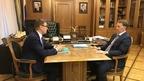 Алексей Гордеев встретился с губернатором Челябинской области Алексеем Текслером
