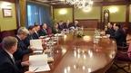Игорь Шувалов встретился с послом Вьетнама в России Нгуен Тхань Шоном и торговым представителем Вьетнама в России Зыонг Хоанг Минем