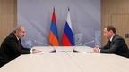Встреча Дмитрия Медведева с Премьер-министром Республики Армения Николом Пашиняном