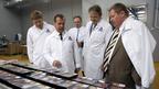 Дмитрий Медведев посетил предприятия фирмы «Агрокомплекс»