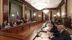 Встреча Дмитрия Медведева с членами Совета по повышению конкурентоспособности ведущих университетов России